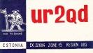 UR2 QSL: 103